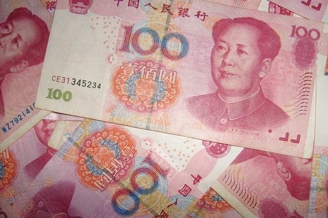 banconote cinesi, prezzo agopuntura